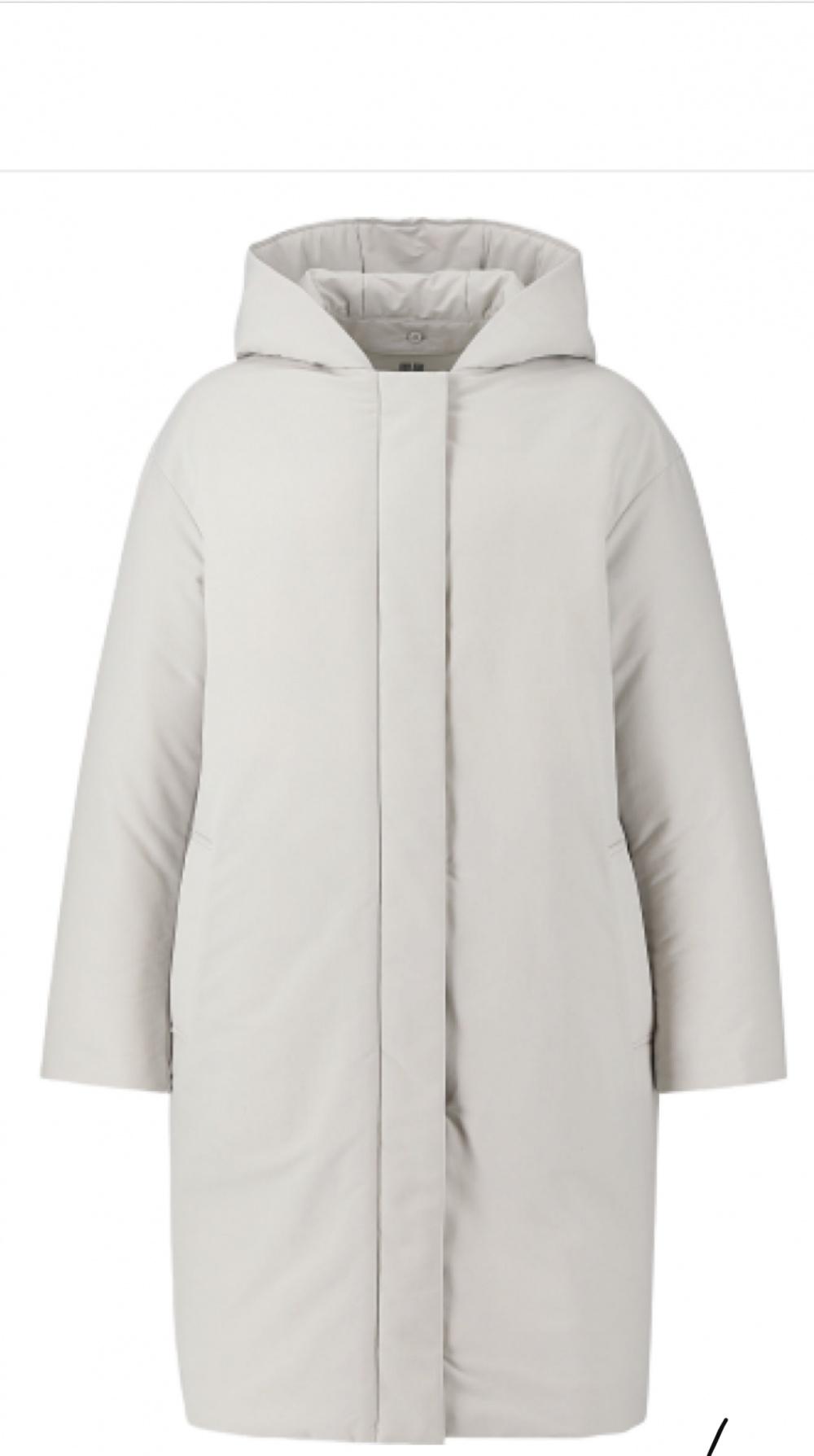 Пуховое пальто Uniqlo