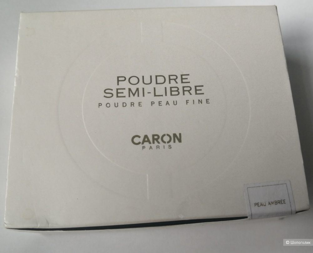 Компактная пудра Caron