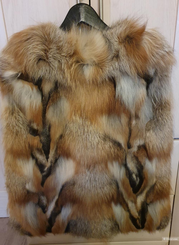 Жилет из меха лисы , 42-44 р