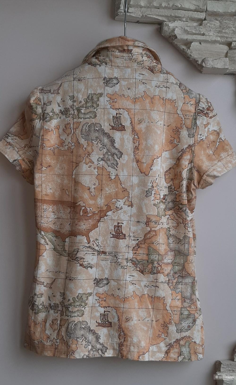 Блузка-футболка Alviero Martini, ит.40, рос.42