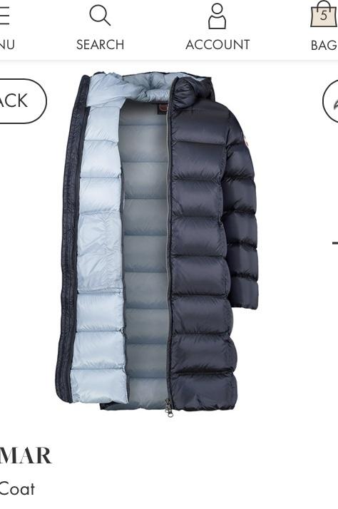 Новое пальто пуховик COLMAR р-р 12 (145-160)