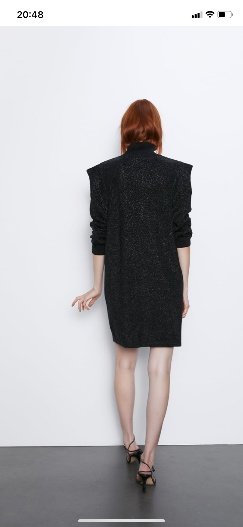 Zara платье s