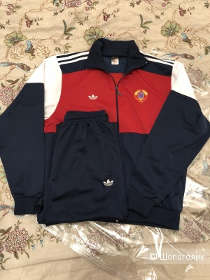 Мужской спортивный костюм. Adidas CCCP. Винтаж