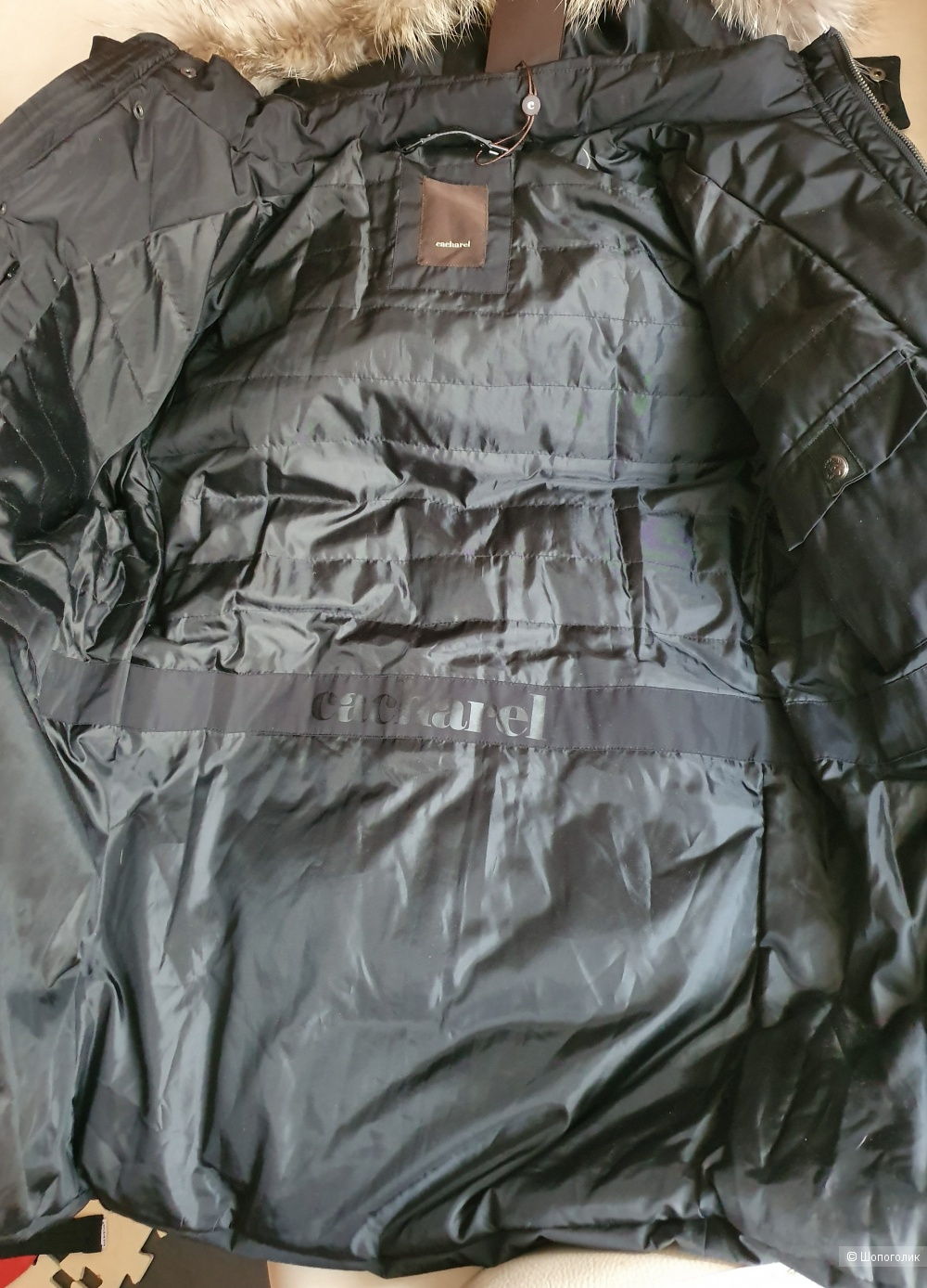 Куртка-пуховик  Cacharel  50  р