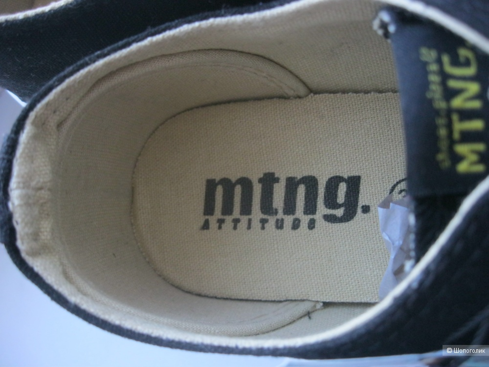 Кеды, mtng attitude, 38 размер