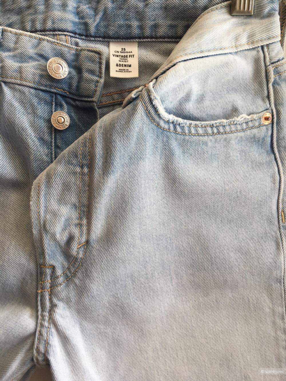 Джинсы H&M(размер 25)