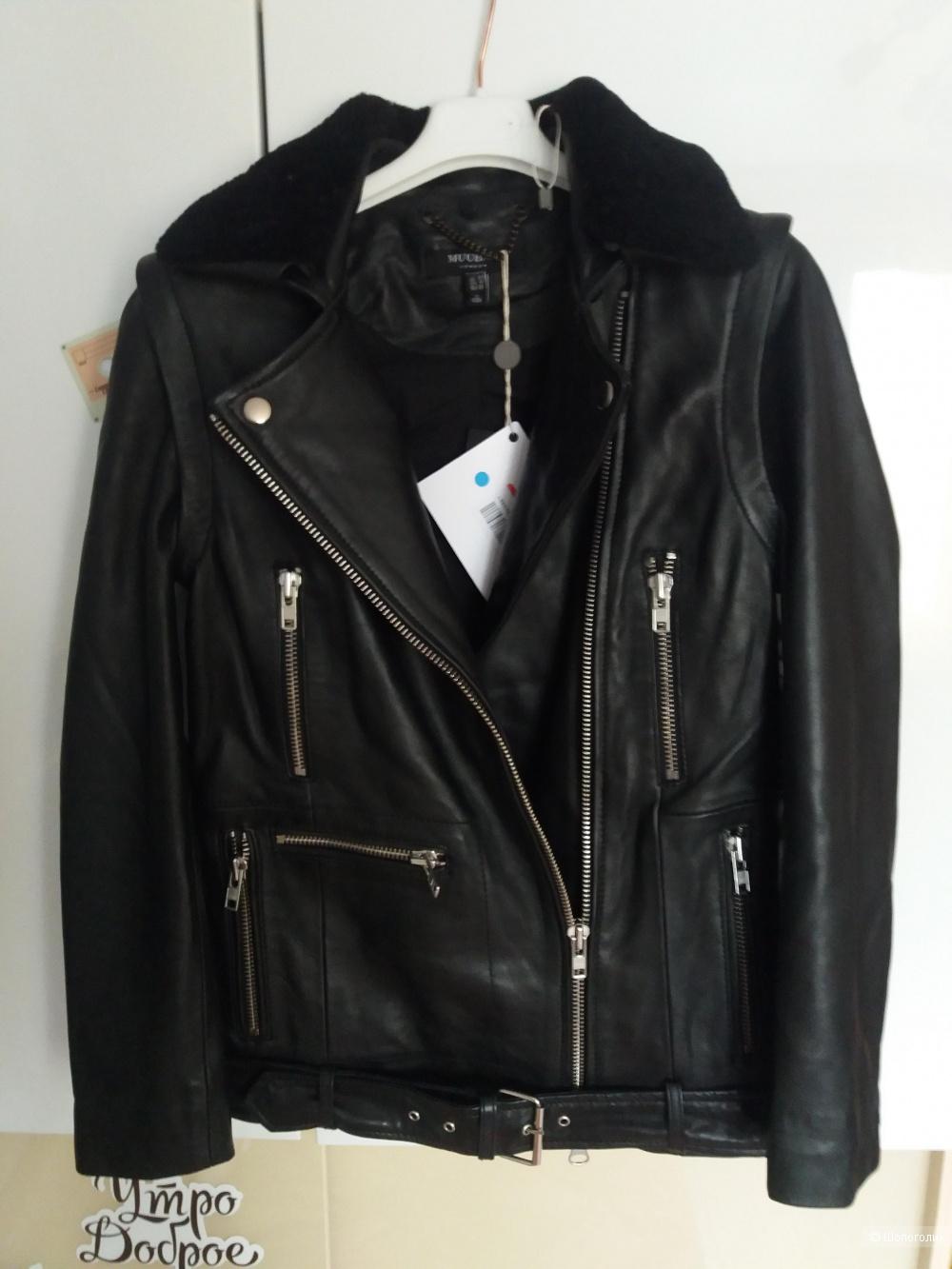 Куртка-жилетка muubaa 38 европ. размер
