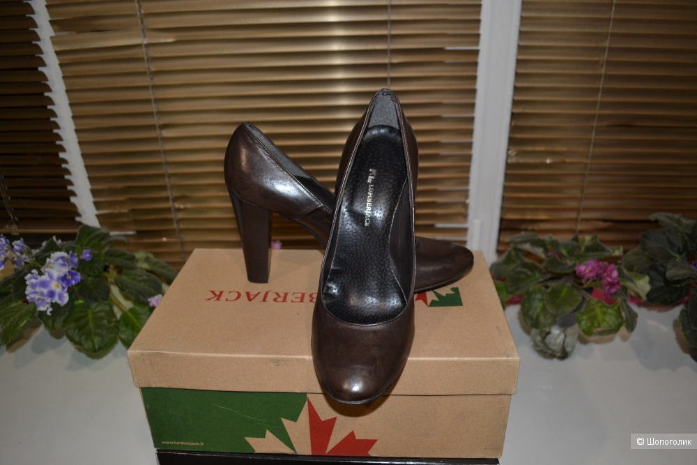 Кожаные туфли  LUMBERJACK, размер 40