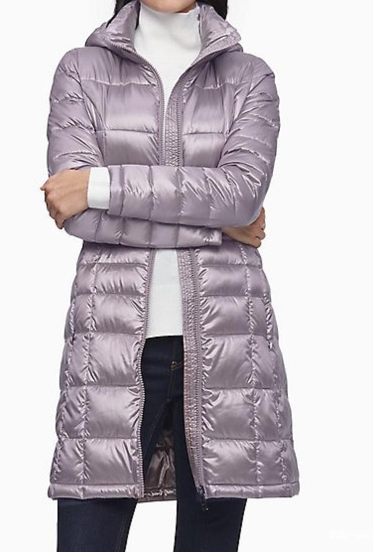 Удлинённая куртка-пуховик Calvin Klein, размер L