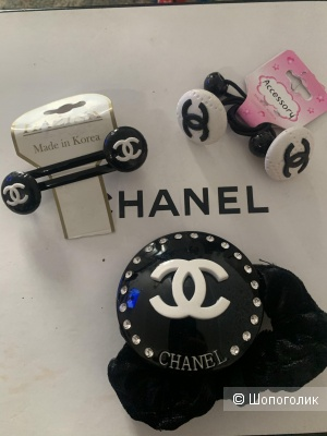 Заколки Chanel сетом