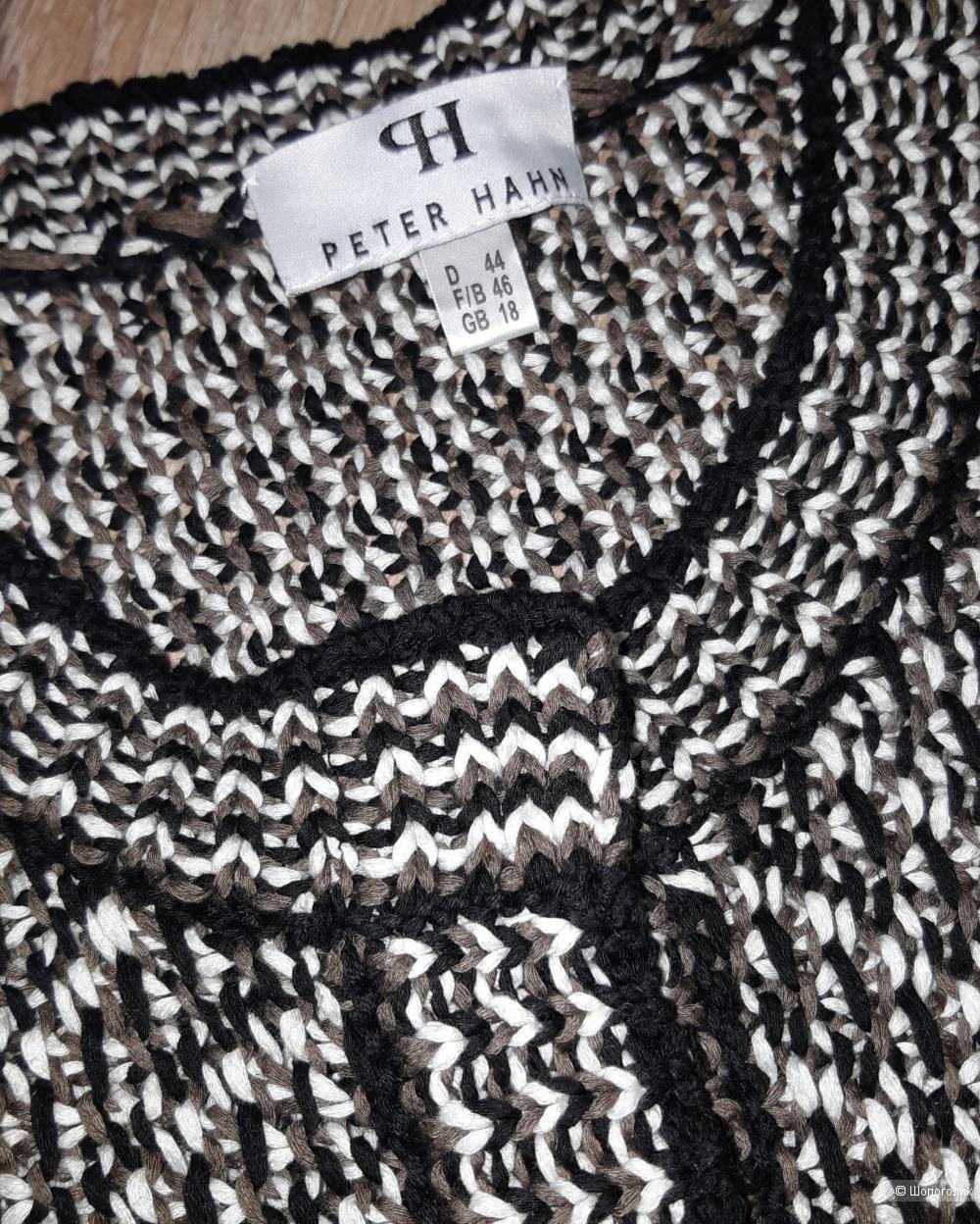 Новый вязаный пиджак peter hahn, размер 46/48