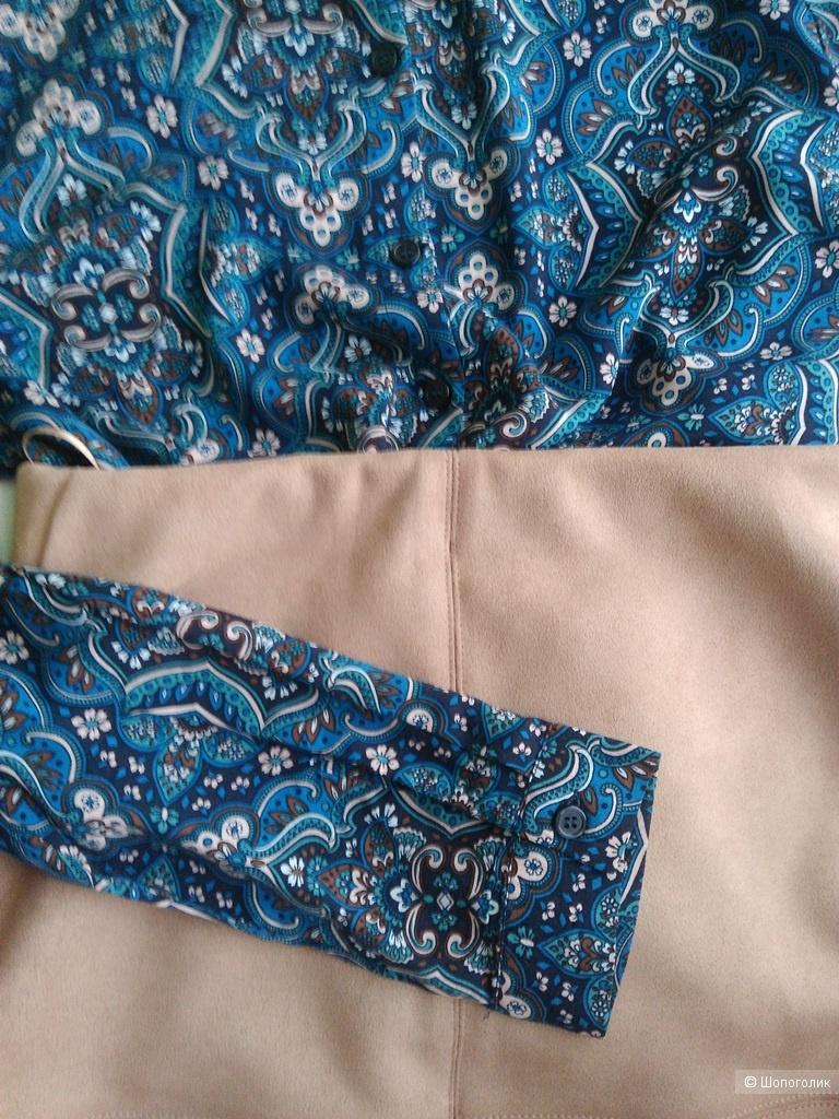 Блузка-рубашка Oodji 46 размер