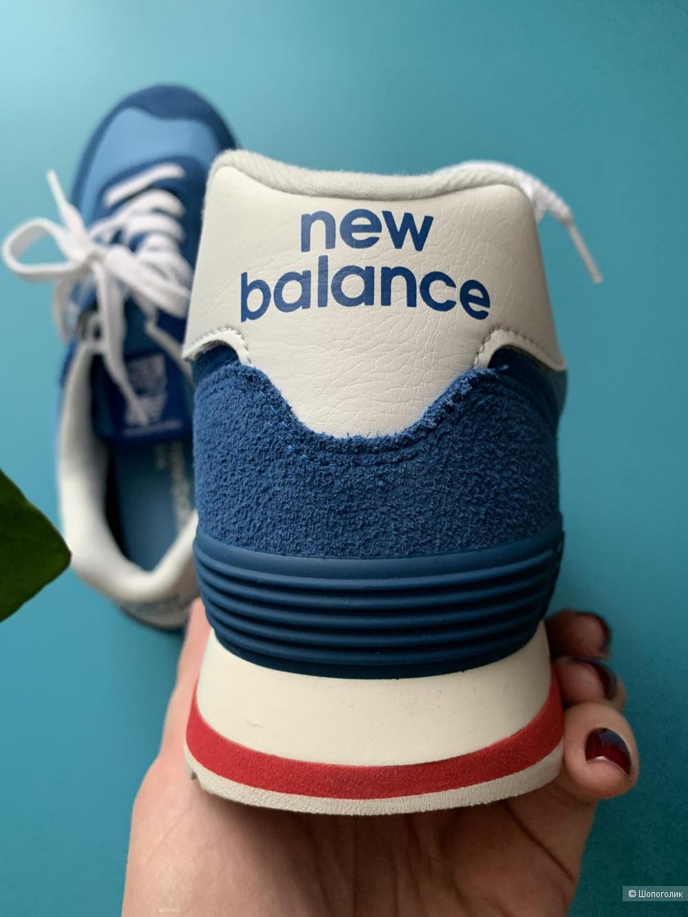 Новые кроссовки New Balance 574, размер 8 и 9,5