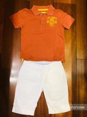 Комплект- поло Lee Cooper + Grant шорты- 6 -8 лет
