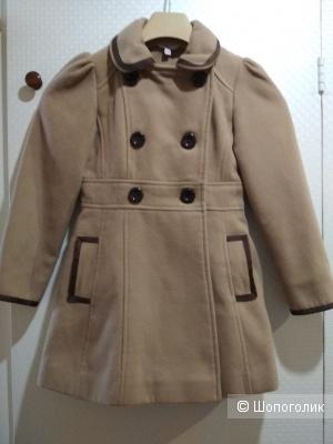 Пальто young dimension размер 7-8 лет