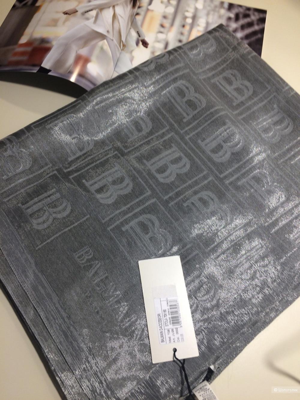 Шарф - палантин Balmain 70x180 см