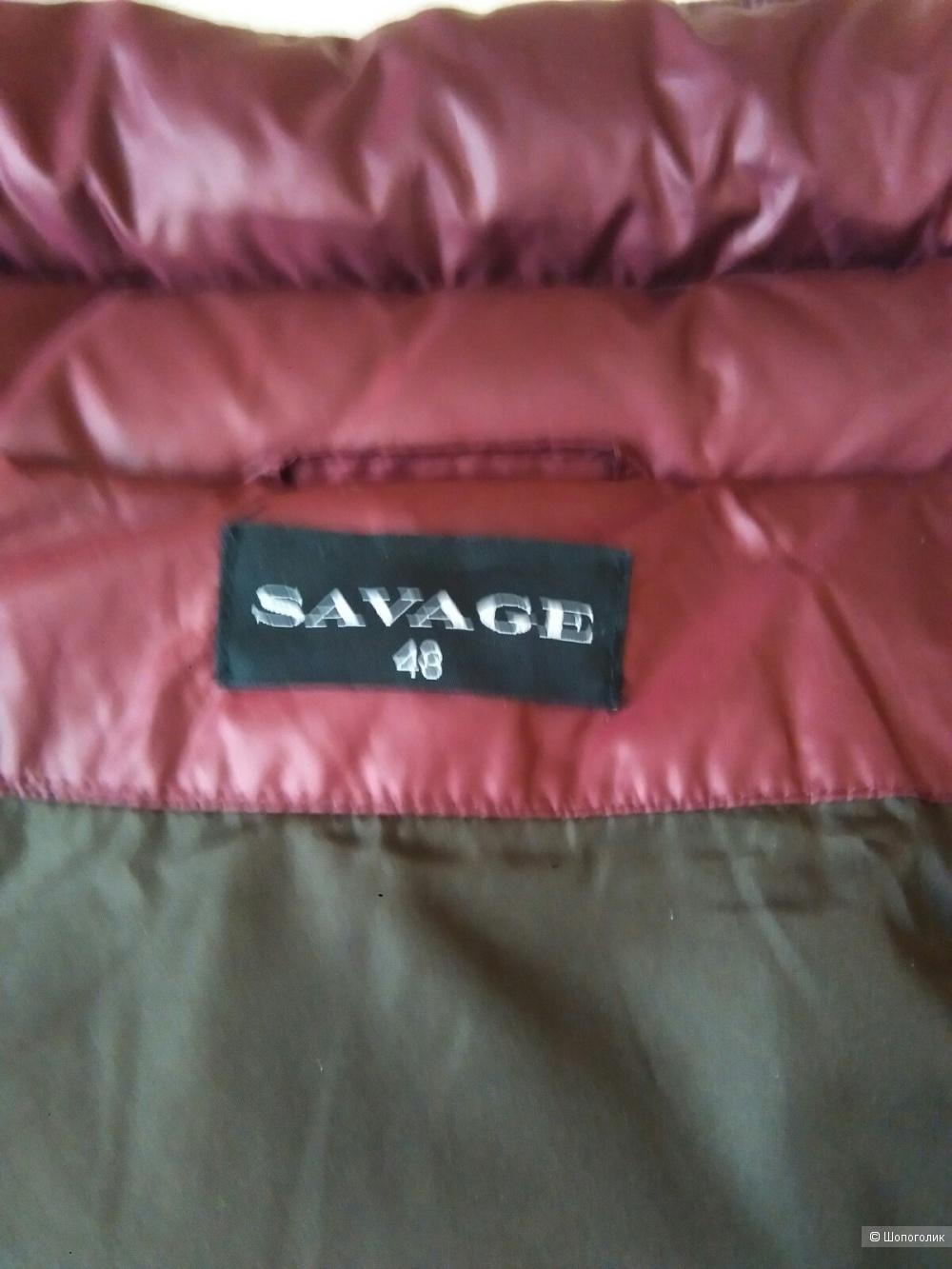 Пуховик SAVAG размер 48