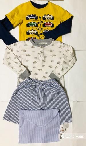 Комплект поло+ пижамка Lana Kids- 5-7 лет