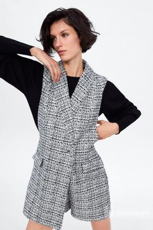Твидовый комбинезон Zara, размер S-M