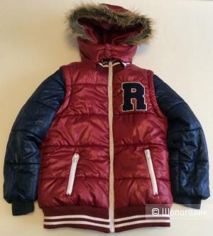 Куртка-жилет 2 в 1 R essentiel р.10ans (138), на рост 128-134 см