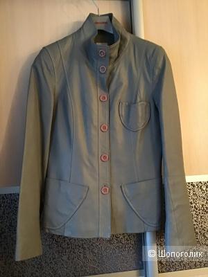Кожаная куртка Elastine , 44-46 Росс. размер