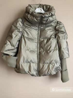Куртка- пуховик Sisley, M, 7-8лет