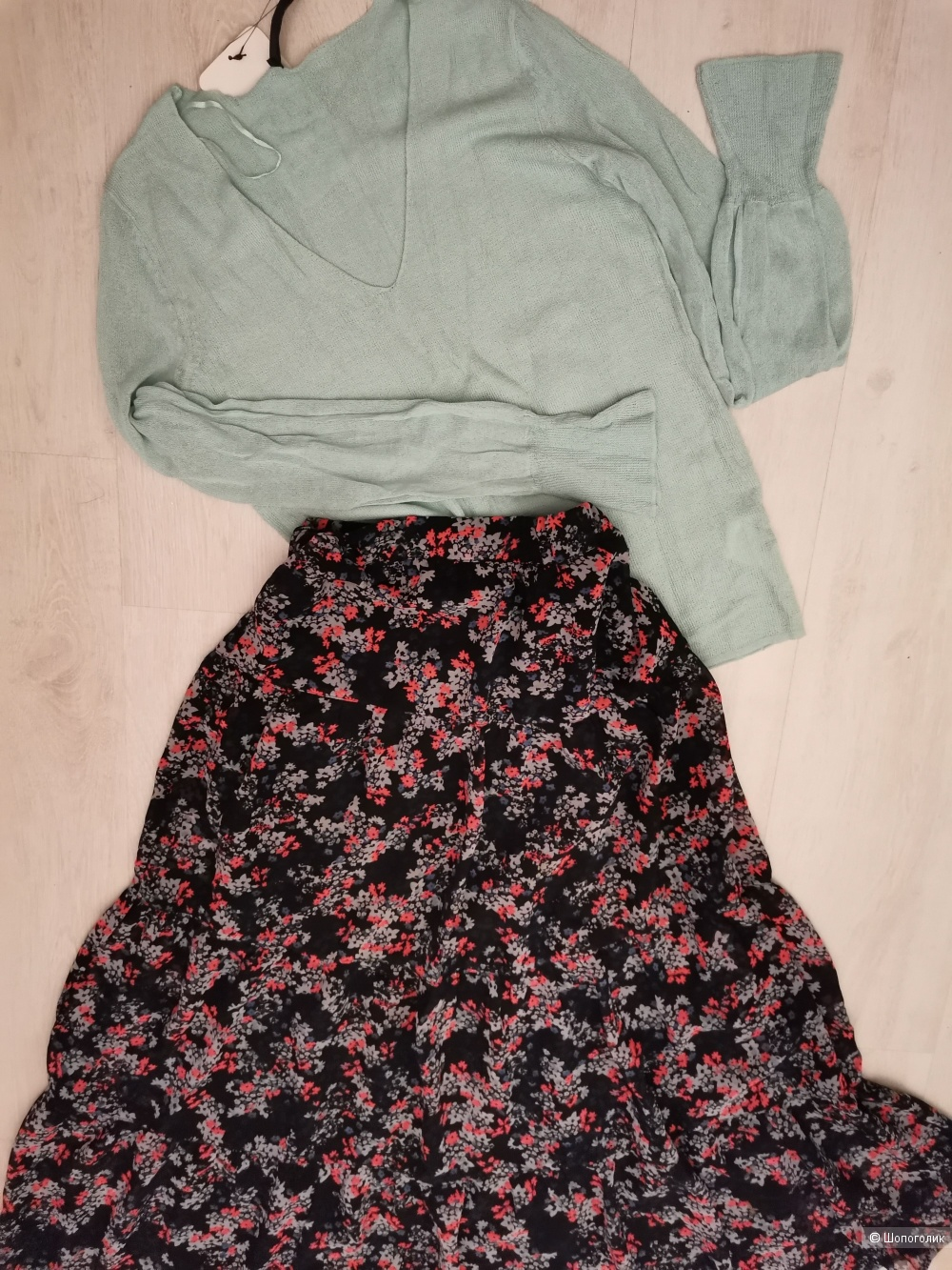 Сет: юбка макси Only, джемпер Concept Club 42