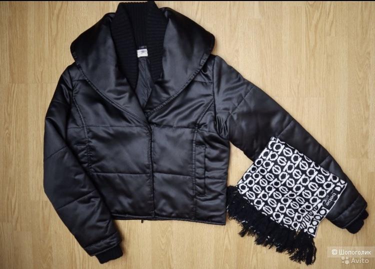Куртка Blunauta 44, шарф Bebe