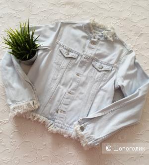Джинсовая куртка MIH Jeans р. L (маломерка)