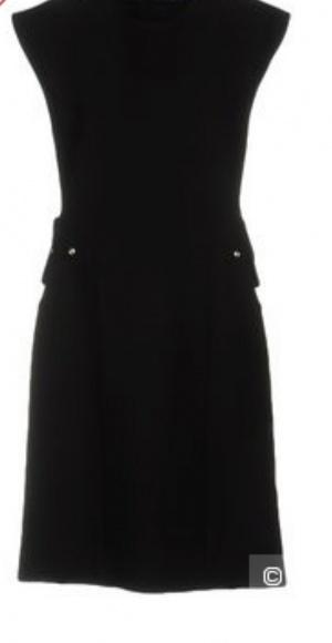 Шерстяное платье, Celine, размер 42-44