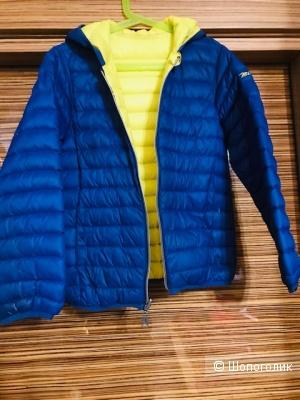 Двусторонняя куртка пуховик Mcs- размер 10 лет