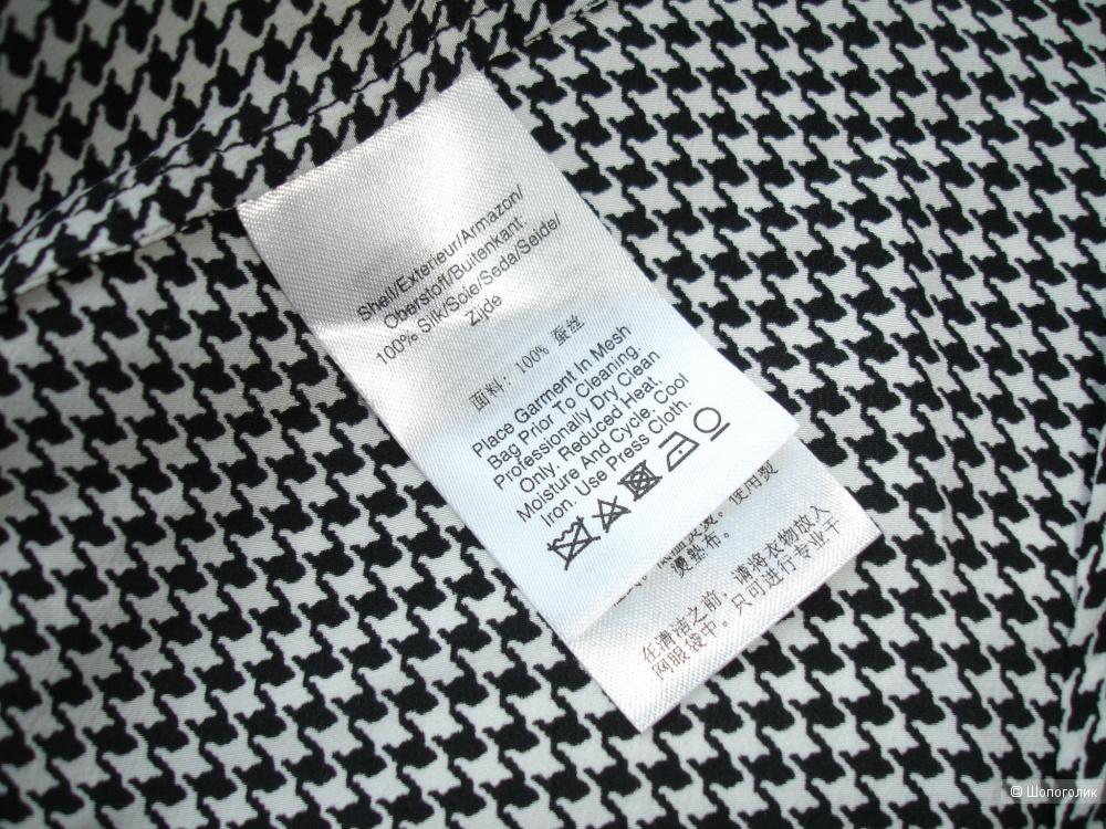 Шелковая блуза Donna Karan New York, размер М