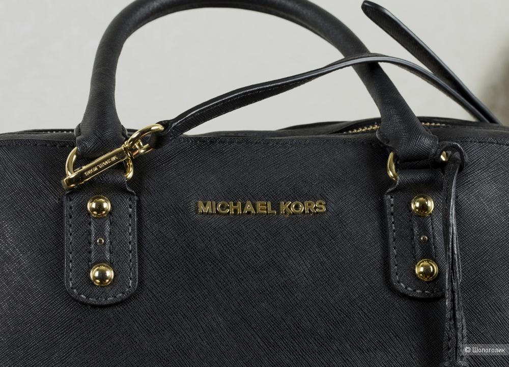 Сумка-тоут женская - Michael Kors Saffiano, medium.