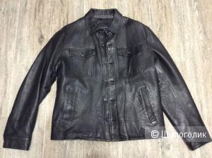 Кожаная куртка  Banana Republic 48-50 размер