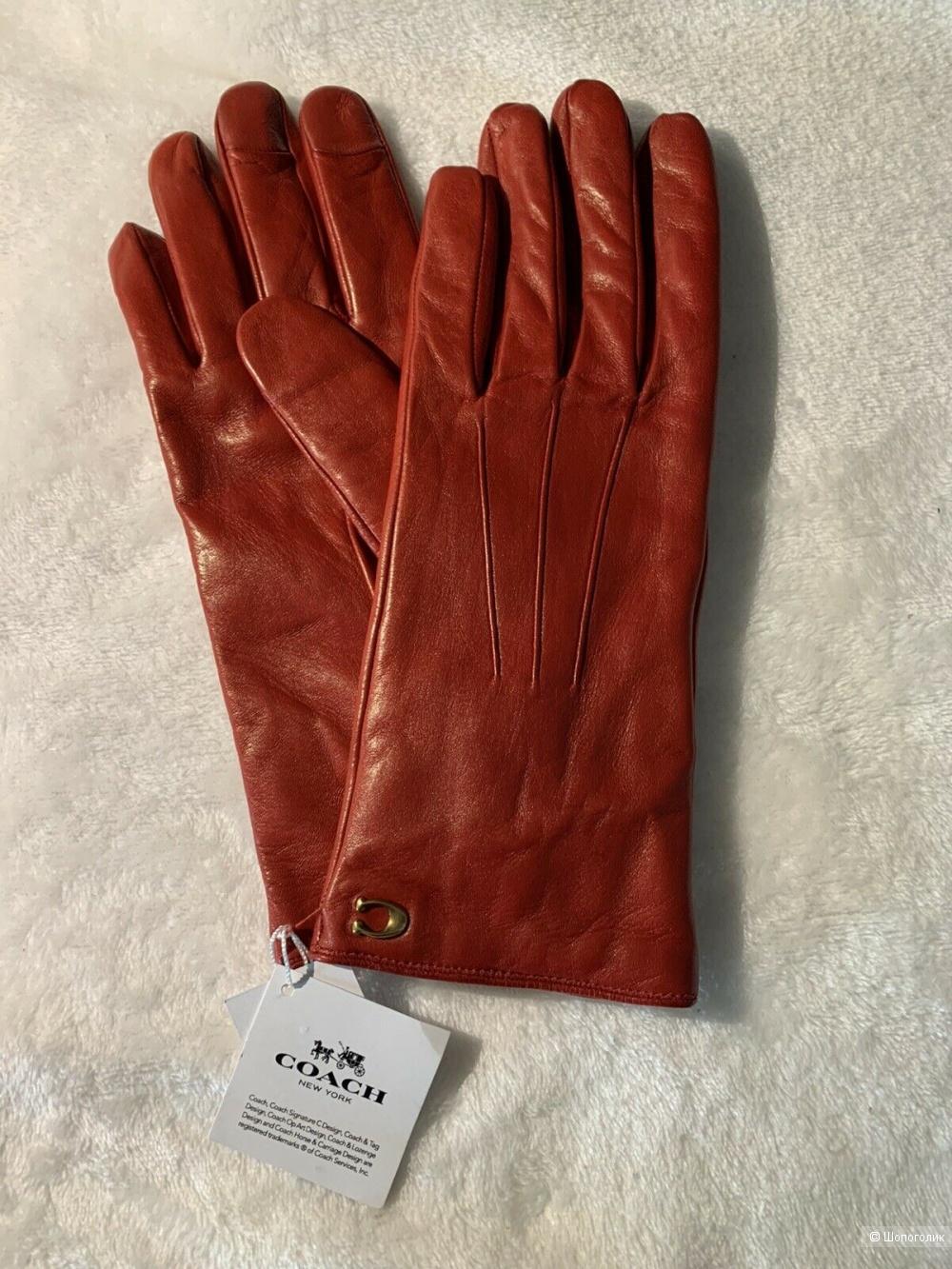 Перчатки COACH Размер 7
