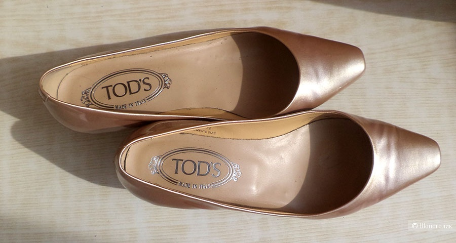 Лодочки Tod's, размер 37,5