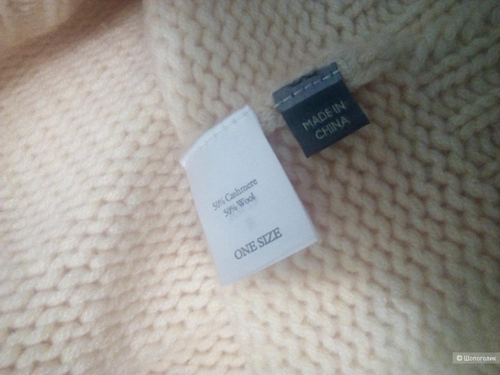 Кашемирово-шерстяной свитер N.Peal, размер One size