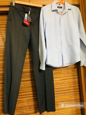 Комплект брюки Choupette + рубашка - размер 146 см