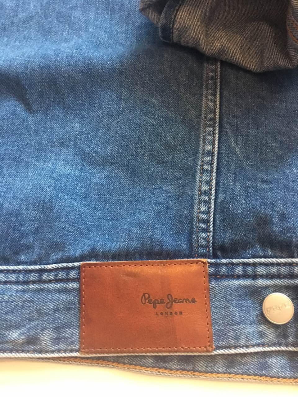 Куртка Pepe Jeans, оверсайз