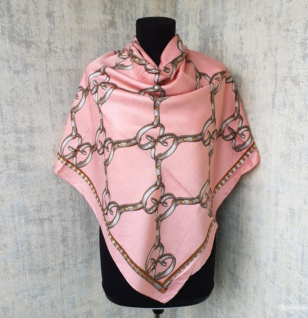 Платок Gucci шелк розовый