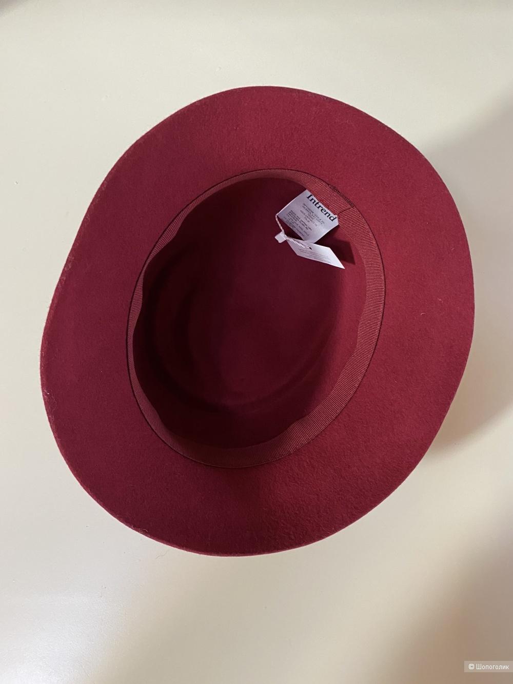 Шляпка Intrend Max Mara 56-57 см.