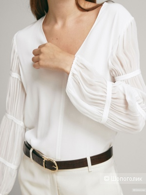 Блузка Massimo Dutti размер EUR 40 на 46-48