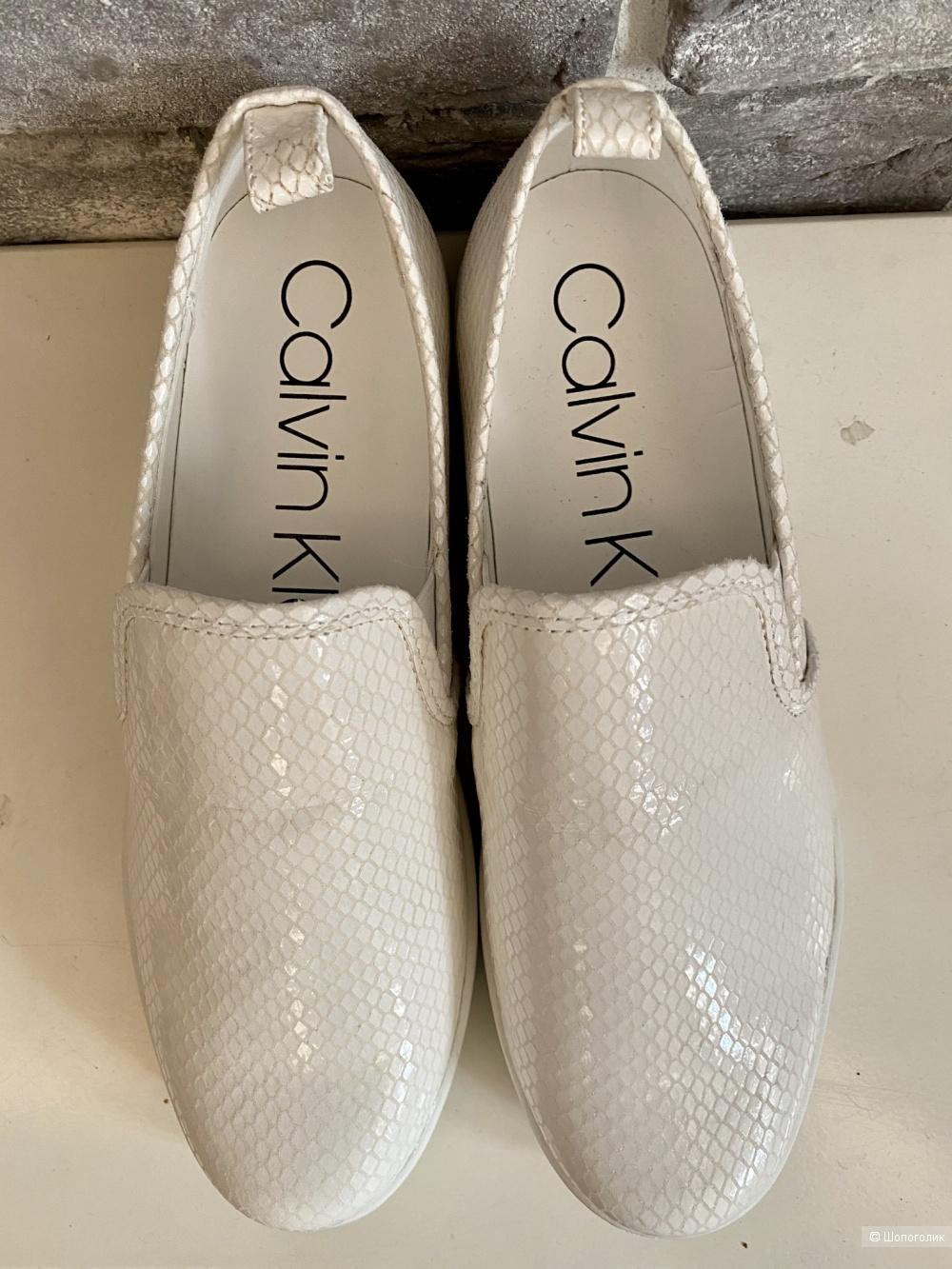 Слипоны Calvin Klein, размер 38,5