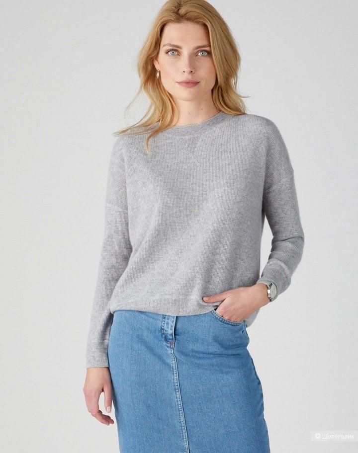 Кашемировый пуловер blue motion, размер s