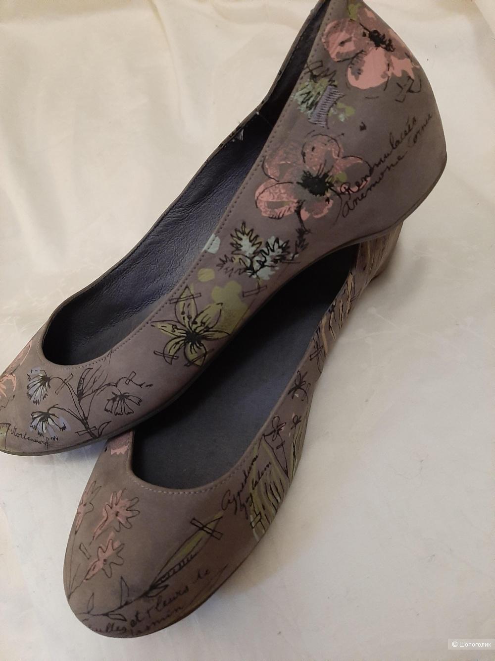 Кожаные балетки CAMPER размер 39