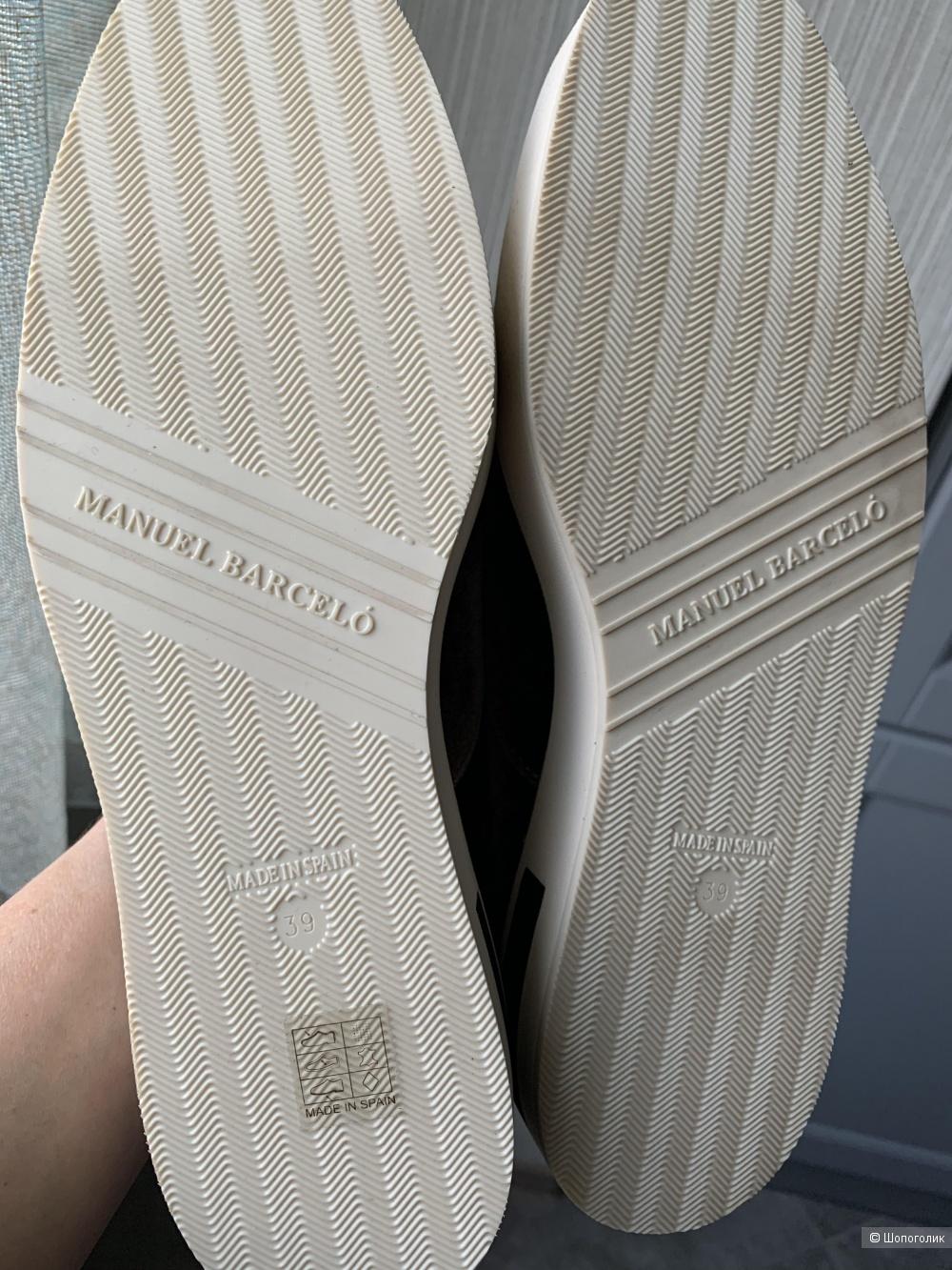 Мокасины -слипы Manuel Barselo, 37-38 размер