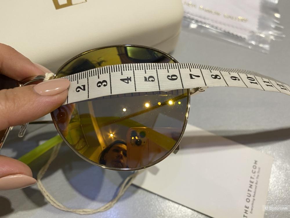 Солнцезащитные очки-авиаторы Linda Farrow&MATTHEW WILLIAMSON