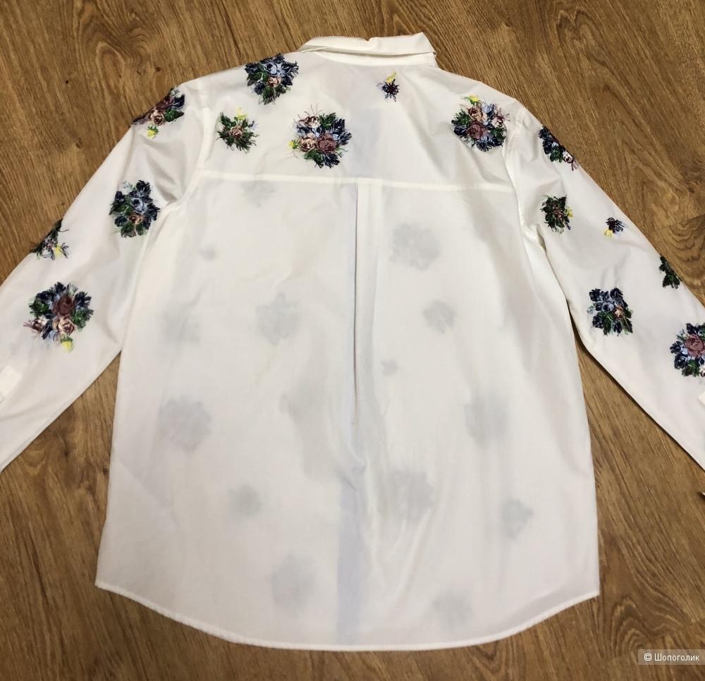 Хлопковая рубашка MaxMara размер M