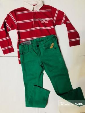 Комплект джинсы Imp&Elfs + поло Sfera Royal- на 5 лет- 110 см