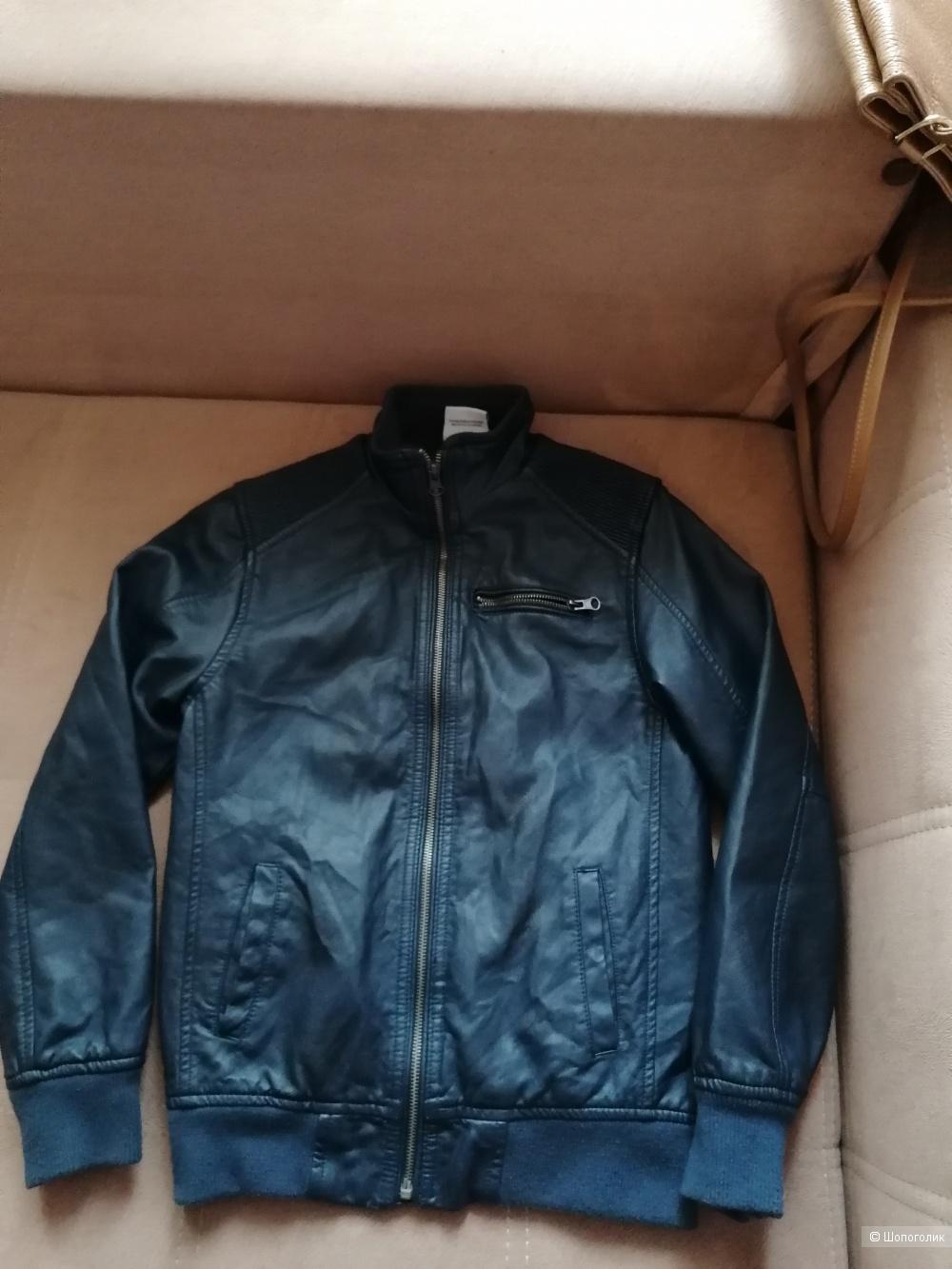 Кожаная куртка Jigga 152 размера